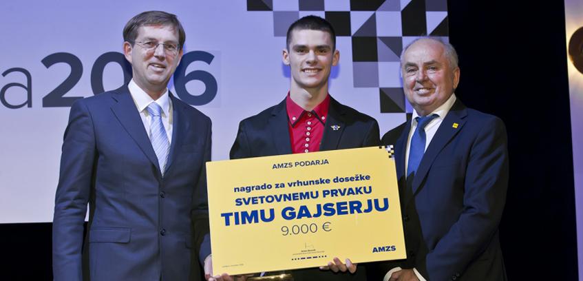 Motošportnik leta 2016 je TIM GAJSER